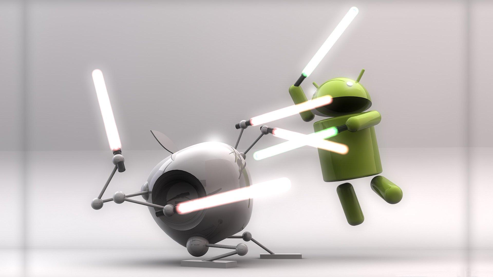 Природа, смешные андроиды картинки