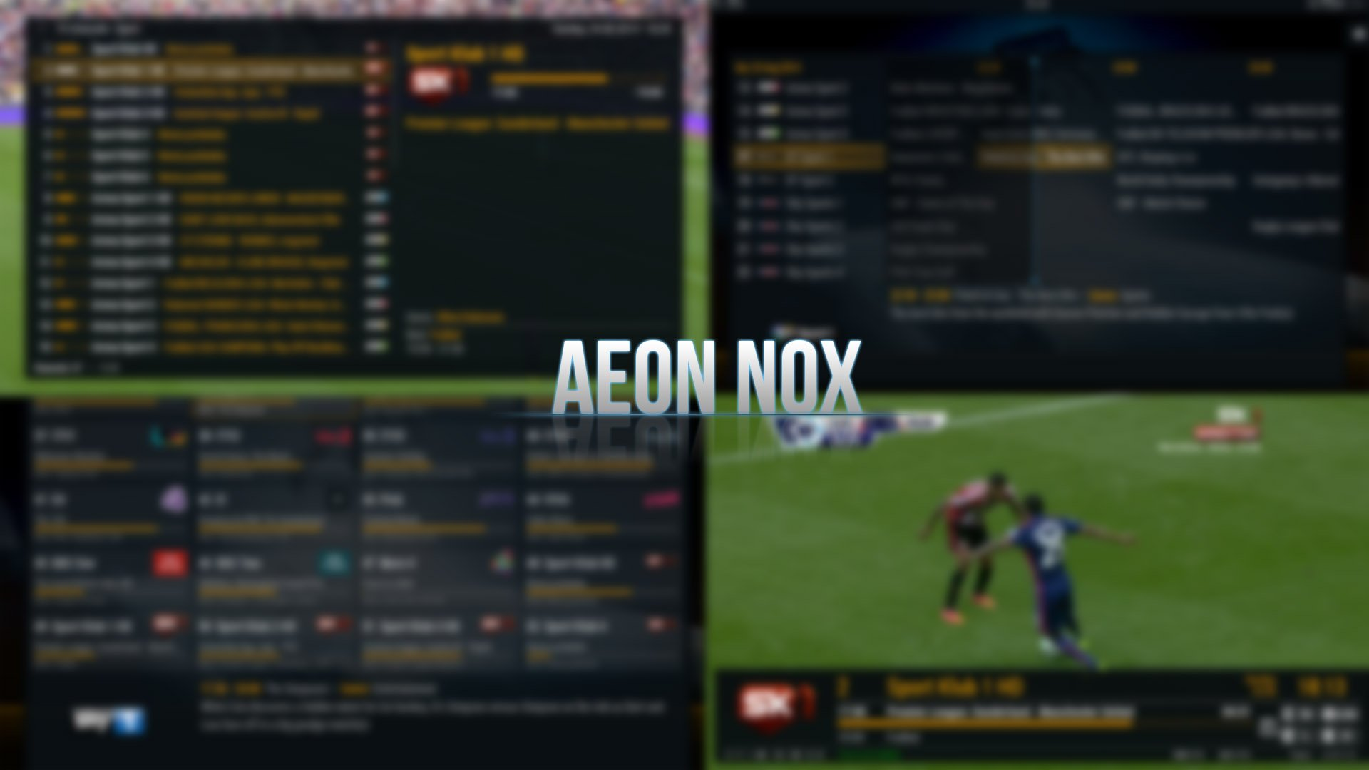 Aeon Nox 5 - Maniac addon for Kodi and XBMC