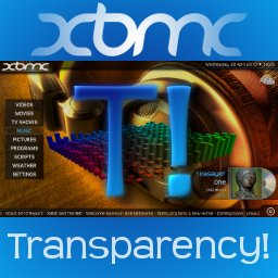 Logo of Transparency!