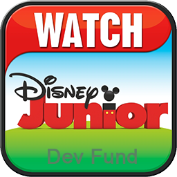 Logo of Disney Junior