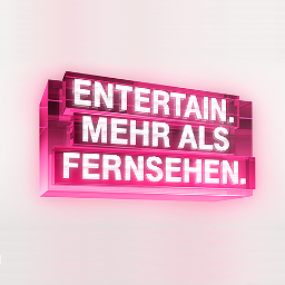 Logo of Telekom Entertain