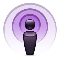 Logo of Apple iTunes Podcasts