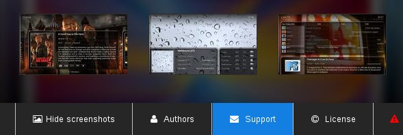 Addon screenshots, support links, license info...SuperRepo has it all